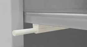 Maniglia modello push and pull cromata